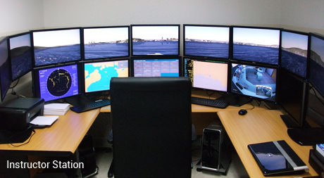 Photo of a Fleetman Instructor Station